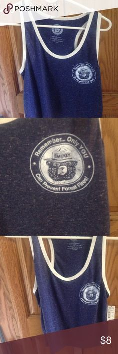 Smokey the bear tank NWT smokey the bear tank size small Tops
