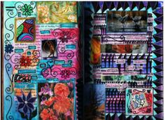 great tips and ideas for altered books and art journals here-The Altered Book Nook