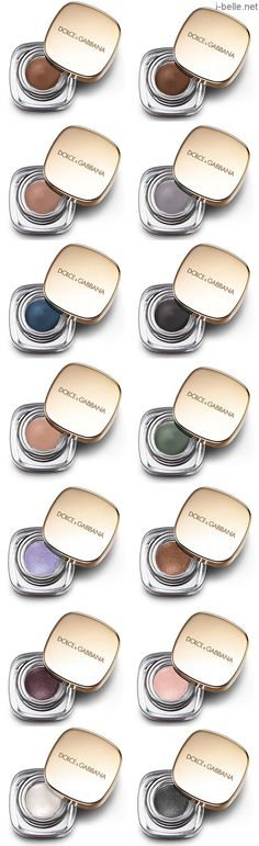 Fall 2014: Dolce & Gabbana Perfect Mono Intense Cream Eye Color Collection
