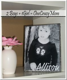 Make your own Canvas Mount Pictures *Super simple*