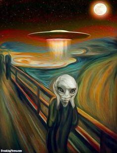 Alien Telekinesis Scream