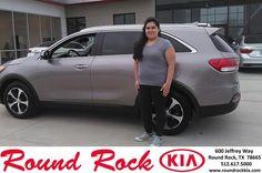 https://flic.kr/p/FTbxSe | Congratulations Abigail on your #Kia #Sorento from LATONYA CARR at Round Rock Kia! | deliverymaxx.com/DealerReviews.aspx?DealerCode=K449