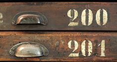 Sale | Tipoteca Italiana  old #drawers #typography #numbers