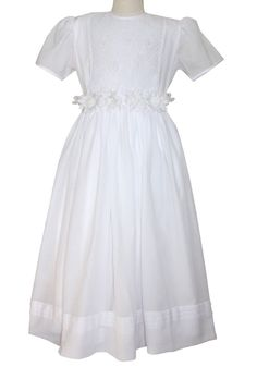 90f5afe660838 First Holy Communion Girls White Dress 10, 12 and 14 yrs – Carousel Wear  White