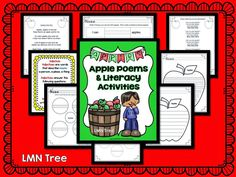 Classroom Freebies: Apple Poems and Writing Activities