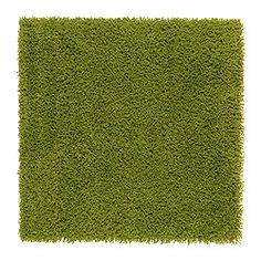 IKEA - HAMPEN, Tapis, poils hauts, Ce tapis en fibres synthétiques est résistant, anti-tache et facile d'entretien.Le velours haut permet de combiner facilement deux tapis pour en obtenir un plus grand.