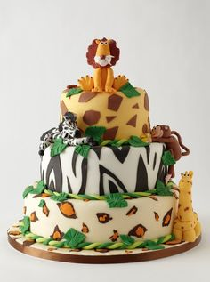 OOO. Someone's b-day cake?? If you're gonna keep using the jungle theme you might as well go all out :-p