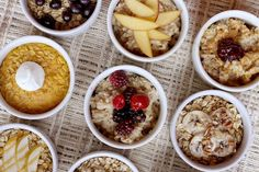 Hot Oatmeal 9 ways..These Oatmeal Recipes Are Worth Waking Up For (PHOTOS)