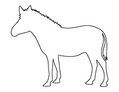 Animals coloring pages » Zebra coloring pages @ Printable