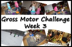 Gross Motor Challenge Week 3