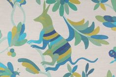 Novelty Upholstery :: Richloom Otami Tapestry Upholstery Fabric in Azul $29.95 per yard - FabricGuru.com: Discount and Wholesale Fabric, Upholstery Fabric, Drapery Fabric, Fabric Remnants