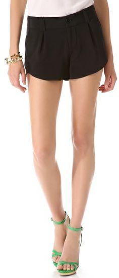 Alice + Olivia Butterfly Shorts on shopstyle.com