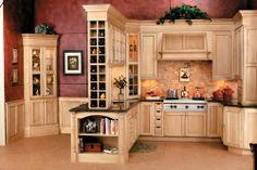 Corner Kitchen Hutch:Cream Corner Kitchen Hutch Color Design–minimalist Corner Kitchen Hutch Designs