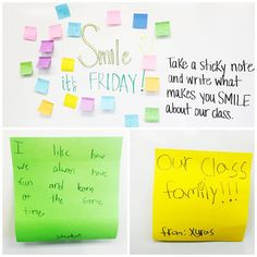"""Our Friday board! Their responses melted my heart! I wish I could show them all! My students loved reading them as much as I did! @miss5th not as pretty…"""