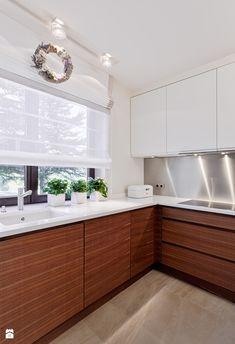 Ikea Kitchen Design, Modern Kitchen Cabinets, Home Decor Kitchen, Kitchen Countertops, Kitchen Sets, New Kitchen, Cottage Blinds, Window Treatments Living Room, Kitchen Photos
