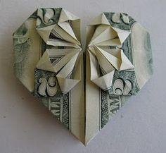 Three Wisdoms: Heart-Shaped Origami-an actual tutorial!