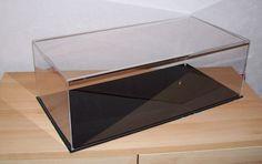 PERSPEX ACRYLIC MODEL DISPLAY CASE  600 X 300 X 200