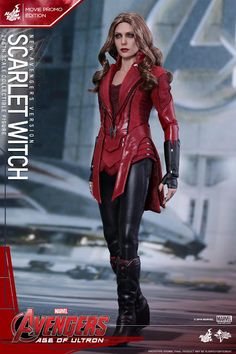 Hot Toys : Avengers: Age of Ultron - Scarlet Witch (New Avengers Version) Movie Promo Edition scale Collectible Figure Dc Comics, Marvel Avengers Comics, Avengers Team, Marvel Films, Marvel Vs, Marvel Cinematic, Scarlet Witch Costume, Scarlet Witch Marvel, Scarlet Heart Ryeo