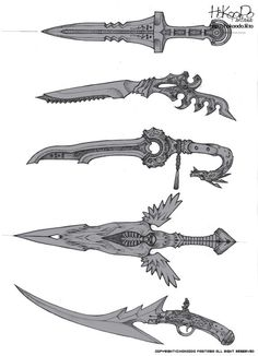 Weapons | weapons_conceptartandmodels in 2018 | Pinterest ...