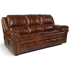 Flexsteel Latitudes - Dandridge Casual Power Reclining Sofa with Contrast Stitching