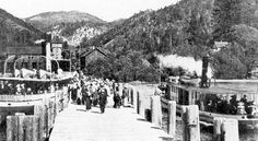 steam ships of lake tahoe | Glenbrook Pier : Photo Details :: The Western Nevada Historic Photo ...
