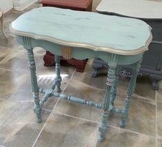 Pretty in Patina! One of the most popular colors in the van Gogh Furniture Paint collection. Can't you just see why?