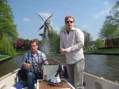 Peter en Kasper in Leiden