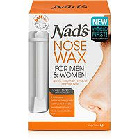 Nads Natural Nose Wax Kit for Men & Women