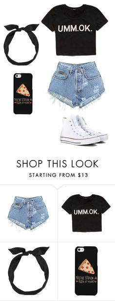 """Summer"" by loucelcandamo ❤ liked on Polyvore featuring moda, Levi's, Forever 21, yunotme, LG, Converse, women's clothing, women's fashion, women e female"