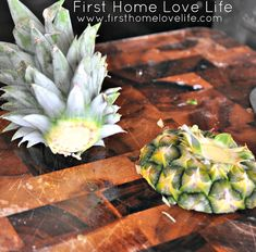 How To: Grow Your Own Pineapple Do you love pineapple? My household does, and we go through at least Pineapple Plant Care, Pineapple Planting, Pineapple Top, Indoor Garden, Garden Plants, Outdoor Gardens, Backyard Greenhouse, Container Gardening, Vegetable Gardening