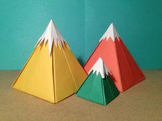 origami mountains tes 6