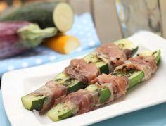 Zucchini im Prosciuttomantel - Rezept