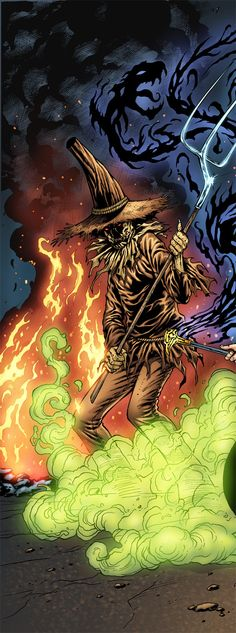 Scarecrow by Al Rio