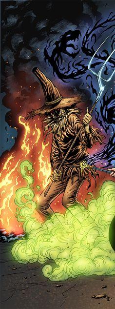 Scarecrow c - detail by AL RIO by AlRioArt