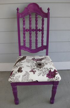 purple. Paint toy box this color and other bench the blue spray paint I should still have