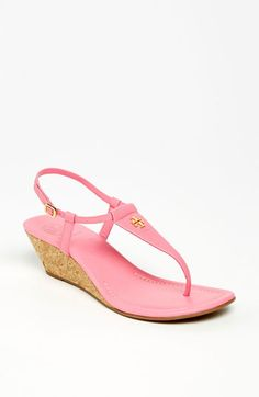 Tory Burch 'Britton' Wedge Sandal available at Nordstrom