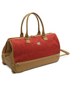"""Oleg Cassini Rolling Duffel, 20"""" Boutique Carry On - Carry On Luggage - luggage - Macy's $99.99"""