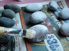 Painting Rock & Stone Animals, Nativity Sets & More: How to Prepare Rocks and Stones for Painting