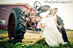 Have to have a tractor somewhere, lol