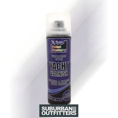 250ml exterior wood varnish spray... For the wooden stumps £2.50