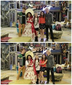 #ZieglerMaddie behind the scenes of austin and ally