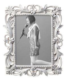 Another great find on #zulily! Antique Cream Florence Frame #zulilyfinds