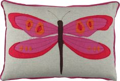 Beautiful and fun pillow for the twin bedroom by designerpillows.com