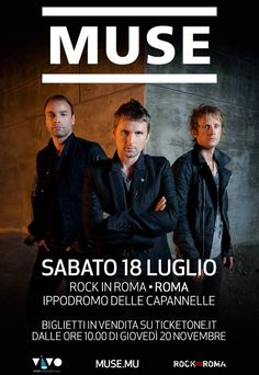 MUSE #news live @ Rock In Roma
