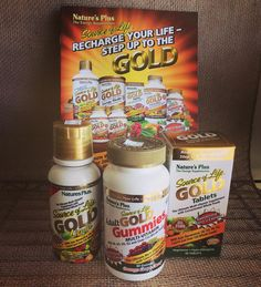 Come in and try a sample of the Gold Standard of Vitamins!  The source of life Gold line of products are one of the highest quality whole food supplements on the market. Source of Life Gold is the newest most comprehensive multivitamin by Natures Plus.  The Gold Standard Line of Multivitamins offer: B Vitamins Vitamin C Vitamin A Vitamin E Grape Seed Extract naturally supplying Trans-resveratrol  Co-Q-10 Vitamin D3 Vitamin K2 Lypopene Marigold naturally supplying Lutein Green Whole Food…