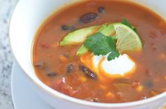 Turn traditional chili into a super healthy meal with a few simple swaps. Slow Cooker Vegetarian Chili is easy to make and it's the perfect weeknight meal.