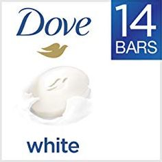 Dove Beauty Bar Gentle Cleanser for Softer and Smoother Skin with Moisturizing Cream White More Moisturizing than Bar Soap oz 14 Bars - Beauty Shop Dove Bar Soap, Soap Bar, 16 Bars, Thing 1, Facial Cleanser, Beauty Cream, Natural Moisturizer, Bath Soap, Home Decor Ideas