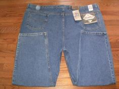 NEW! BIG MENS 58x30 LEVI'S relaxed fit BLUE DENIM JEANS pants NWT!