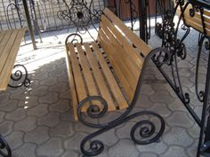 Diy Furniture Table, Metal Furniture, Garden Furniture, Metal Projects, Welding Projects, Wrought Iron Bench, Metal Art Sculpture, Metal Shop, Garden Seating