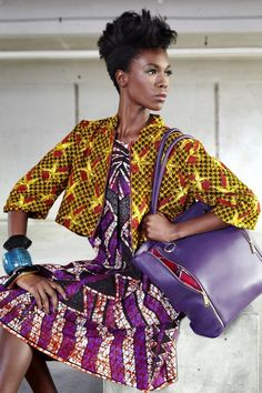 , Vlisco - Funky Grooves Collection.
